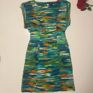 New Directions Art Colorful Dress With Pockets 6